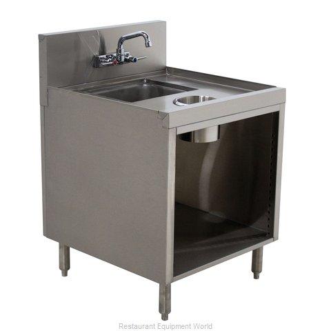 Advance Tabco PRWC-24-18 Underbar Waste Cabinet, Wet & Dry