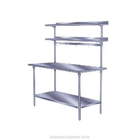 Advance Tabco PT-12R-120 Overshelf Table Mounted