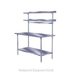 Advance Tabco PT-18R-144 Overshelf, Table-Mounted