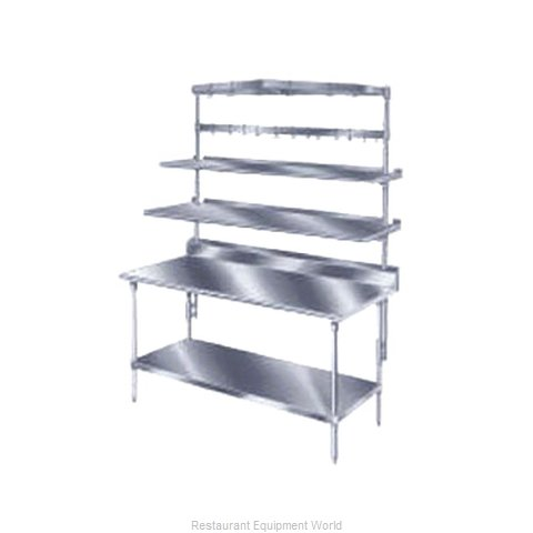 Advance Tabco PT-18S-120 Overshelf Table Mounted