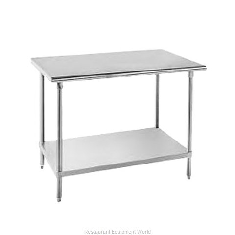 Advance Tabco SAG-249 Flat Top Worktable (Magnified)