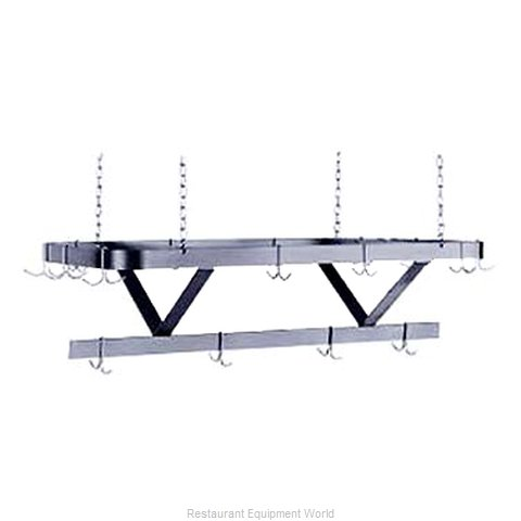 Advance Tabco SC-96 Pot Rack, Ceiling Hung (Magnified)