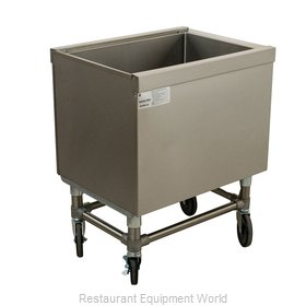 Advance Tabco SCI-MIC-36 Ice Bin / Ice Caddy , Mobile