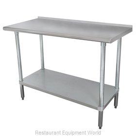Advance Tabco SFLAG-245-X Work Table,  54