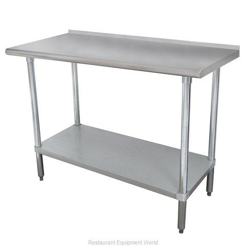 Advance Tabco SFLAG-305-X Work Table,  54
