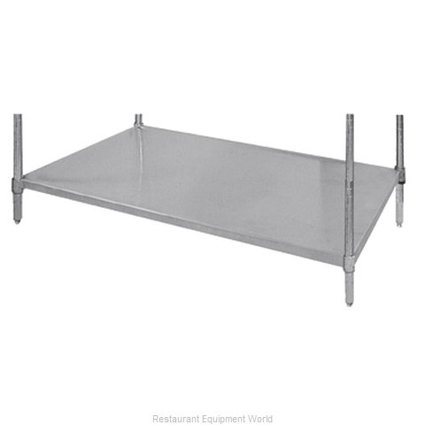 Advance Tabco SH-1848 Shelving Solid (Magnified)