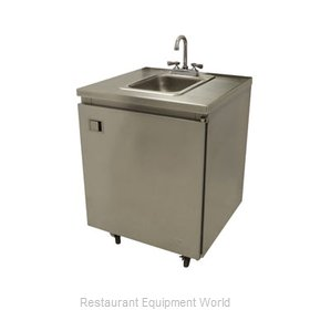 Advance Tabco SHK-MSC-26CH Hand Sink, Mobile