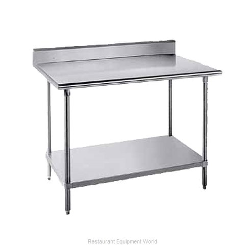 Advance Tabco SKG-249 Work Table 108 Long Stainless steel Top