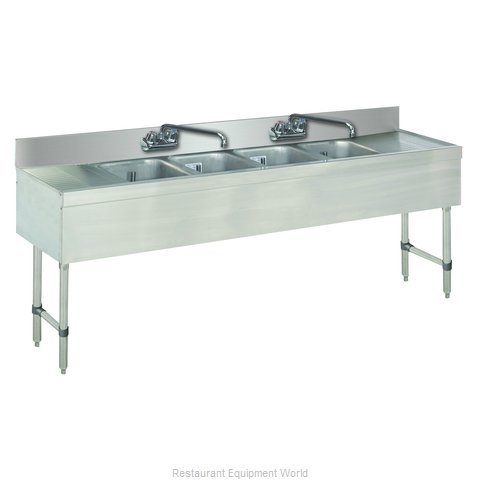 Advance Tabco SLB-64C-X Underbar Sink Units