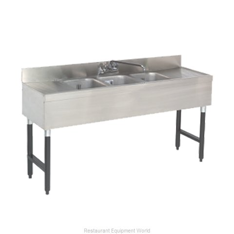 Advance Tabco SLB-83C Underbar Sink Units (Magnified)