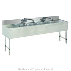 Advance Tabco SLB-84C-X Underbar Sink Units