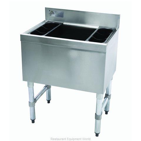 Advance Tabco SLI-16-24-7 Underbar Ice Bin/Cocktail Unit