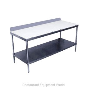 Advance Tabco SPS-247 Work Table, Poly Top