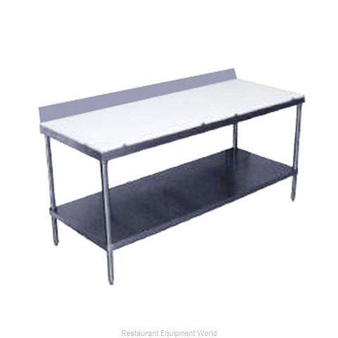 Advance Tabco SPS-307 Work Table, Poly Top