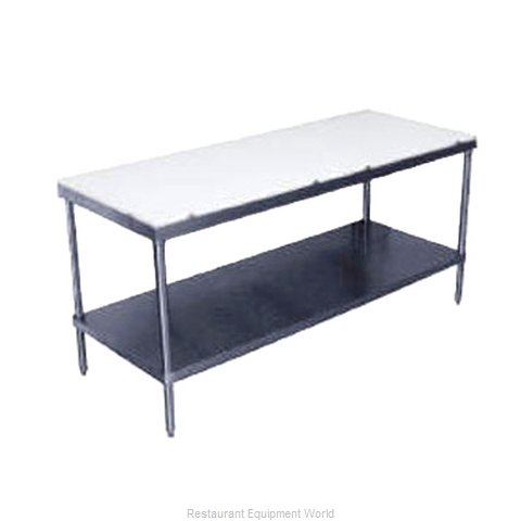 Advance Tabco SPT-307 Work Table Poly Top