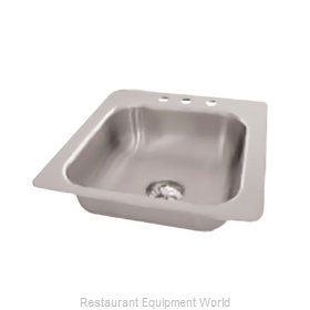 Advance Tabco SS-1-1715-10 Sink, Drop-In