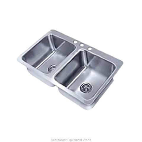 Advance Tabco SS-2-3321-10 Sink, Drop-In