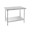 Mesa de Trabajo, 183cm (72 pulgadas) <br><span class=fgrey12>(Advance Tabco SS-306 Work Table,  63