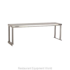 Advance Tabco STOS-6 Serving Counter, Overshelf