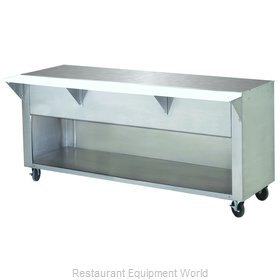 Advance Tabco STU-4-BS Serving Counter, Utility