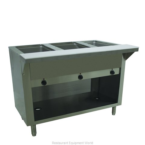 Advance Tabco SW-3E-120-BS Serving Counter, Hot Food, Electric