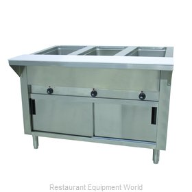 Advance Tabco SW-3E-120-DR Serving Counter, Hot Food, Electric