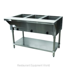 Advance Tabco SW-3E-120-X Serving Counter, Hot Food, Electric