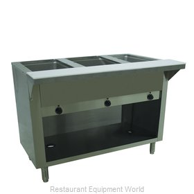 Advance Tabco SW-3E-240-BS Serving Counter, Hot Food, Electric