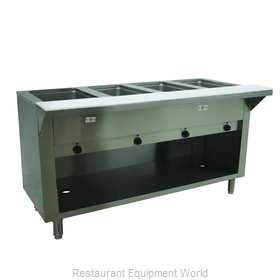 Advance Tabco SW-4E-240-BS Serving Counter, Hot Food, Electric
