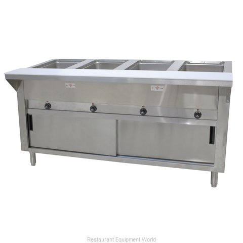 Advance Tabco SW-4E-240-DR Serving Counter, Hot Food, Electric