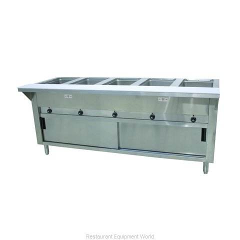 Advance Tabco SW-5E-240-DR Serving Counter, Hot Food, Electric