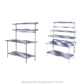 Advance Tabco SWT-84 Pot Rack Table Mounted