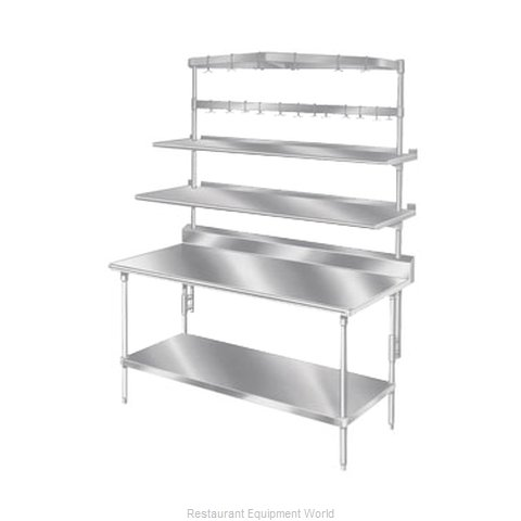 Advance Tabco SWTB-144 Pot Rack Table Mounted