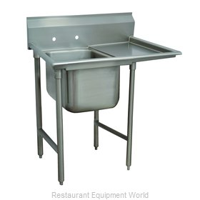 Advance Tabco T9-1-24-18R-X Sink, (1) One Compartment
