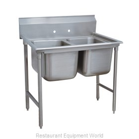 Advance Tabco T9-2-36-X Sink 2 Two Compartment