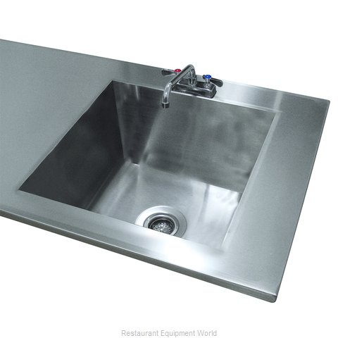 Advance Tabco TA-11F Sink Bowl, Weld-In / Undermount (Magnified)