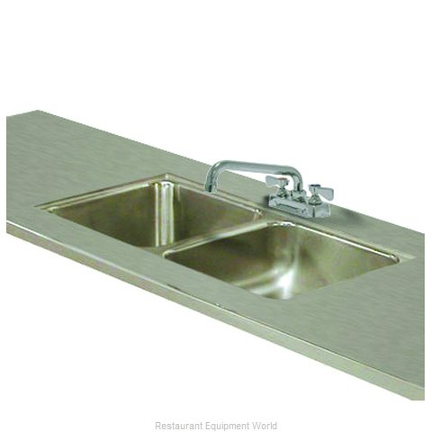 Advance Tabco TA-11L-2 Sink Bowl, Weld-In / Undermount (Magnified)