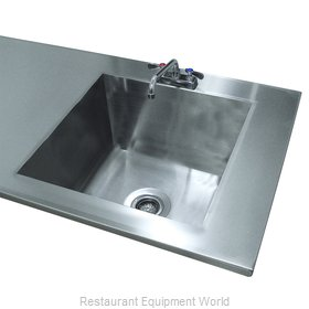 Advance Tabco TA-11V Sink Bowl, Weld-In / Undermount