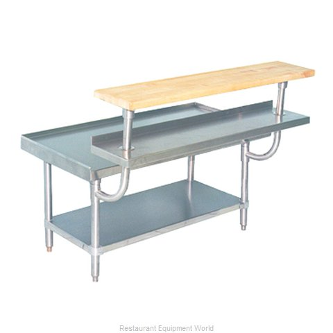Advance Tabco TA-965 S/S Adjustable Plate Shelf - 5'