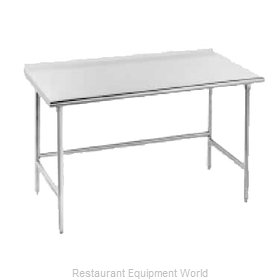 Advance Tabco TFLG-307 Work Table 84 Long Stainless steel Top