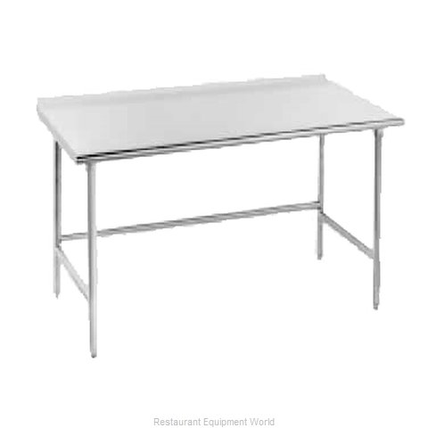 Advance Tabco TFMG-249 Work Table 108 Long Stainless steel Top
