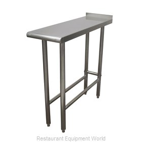 Advance Tabco TFMS-150 Work Table 12 - 18 Long Stainless steel Top