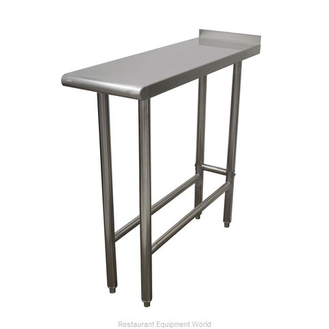 Advance Tabco TFMS-153 Work Table 12 - 18 Long Stainless steel Top