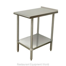 Advance Tabco TFMSU-150-X Work Table,  12