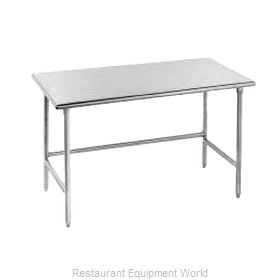 Advance Tabco TGLG-4810 Work Table 120 Long Stainless steel Top