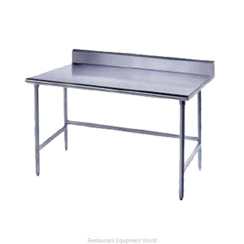 Advance Tabco TKLG-3010 Work Table 120 Long Stainless steel Top