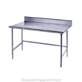 Advance Tabco TKLG-307 Work Table 84 Long Stainless steel Top