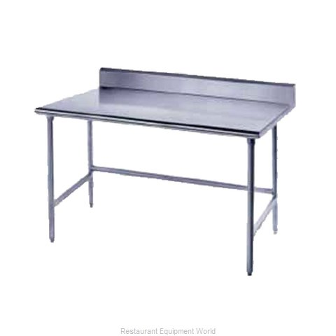 Advance Tabco TKSS-3010 Work Table 120 Long Stainless steel Top