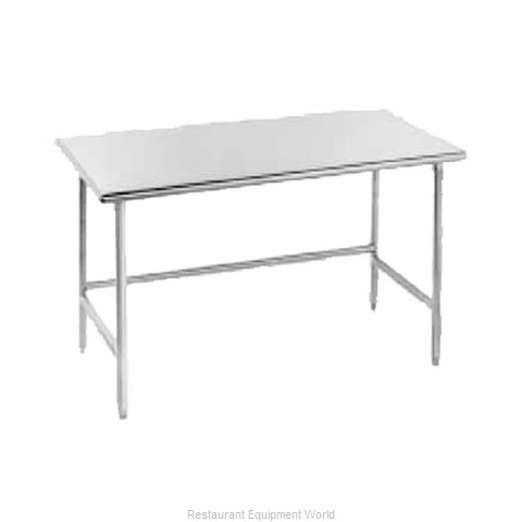 Advance Tabco TMS-3010 Work Table 120 Long Stainless steel Top