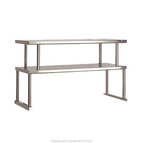 Advance Tabco TOS-2 Serving Counter, Overshelf